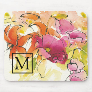 Add Your Monogram | Pattys Plum Mouse Pad