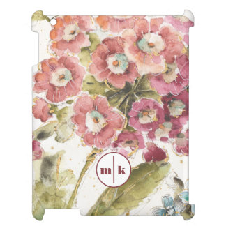 Add Your Monogram | Pink Primrose Cover For The iPad