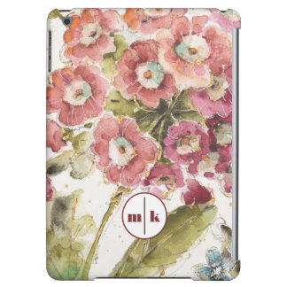 Add Your Monogram | Pink Primrose iPad Air Case