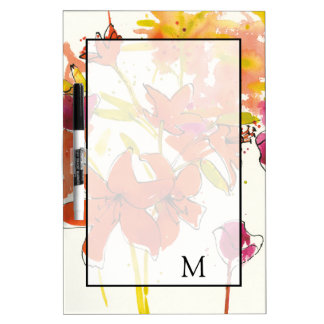 Add Your Monogram | The Plum of Patty Dry-Erase Board