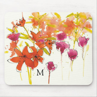 Add Your Monogram | The Plum of Patty Mouse Pad