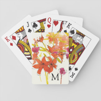 Add Your Monogram | The Plum of Patty Playing Cards