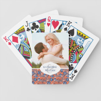 Add Your Name | Anchor And Jellyfish Pattern Bicycle Playing Cards