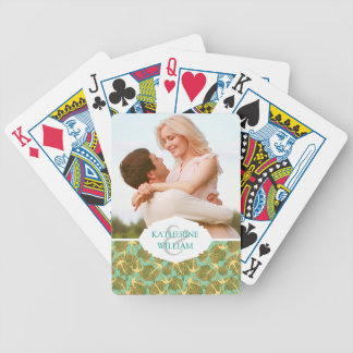 Add Your Name | Anchor And Shells In Vintage Style Bicycle Playing Cards
