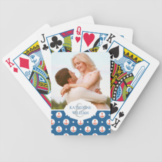 Add Your Name | Anchor Dots Bicycle Playing Cards