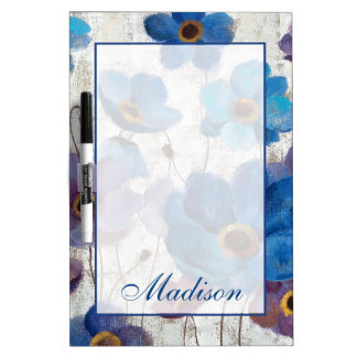 Add Your Name | Bold Anemones Dry-Erase Board