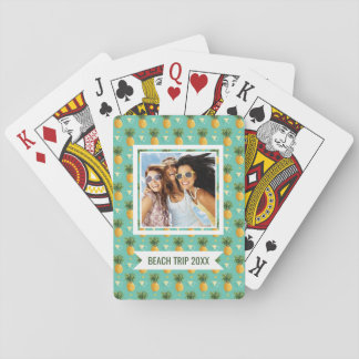 Add Your Name | Bright Pineapples Playing Cards