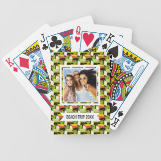 Add Your Name | Colorful Toucans Bicycle Playing Cards