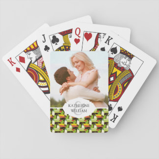Add Your Name | Colorful Toucans Playing Cards