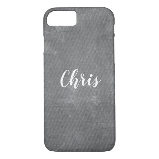 Add Your Name Faux Blackboard Custom Personalized iPhone 8/7 Case