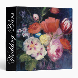 Add Your Name | Fresh Cut Spring Flower Binder