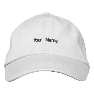 Add your name hat