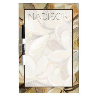 Add Your Name | Magnolia Simplicity Cream Dry Erase Board