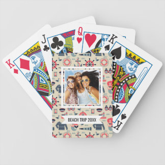 Add Your Name | Marine Life Pattern Bicycle Playing Cards