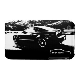 """""""add your name"""" Mustang Rolling shot Case-Mate iPhone 3 Cases"""