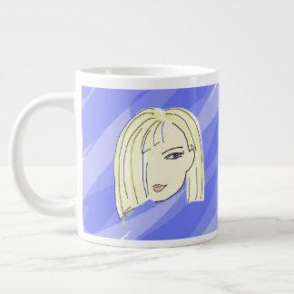 Add Your Name On Good Morning-Mug Large Coffee Mug