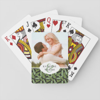 Add Your Name | Palm Leaves Playing Cards
