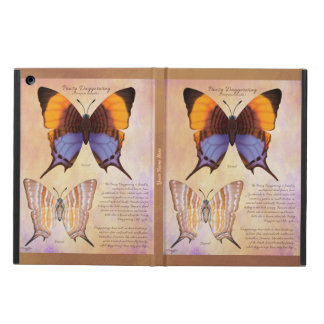 Add Your Name Pansy Daggerwing Butterfly Cover For iPad Air