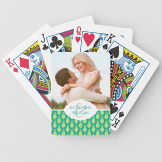 Add Your Name | Pastel Pineapples Bicycle Playing Cards