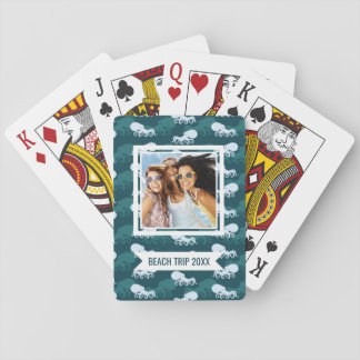 Add Your Name | Rows Of Octopus Pattern Poker Deck