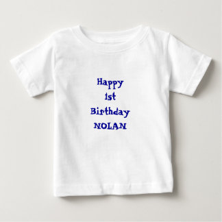 Add your namePersonalized Happy Birthday shirt