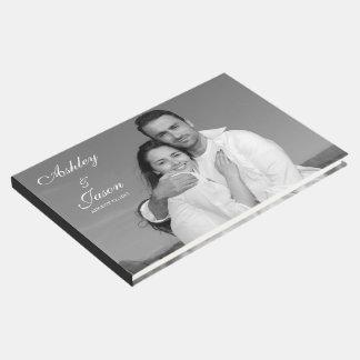 Add Your Own Custom Photo Wedding Guest Book
