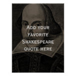 Add your own favourite Shakespeare quote poster
