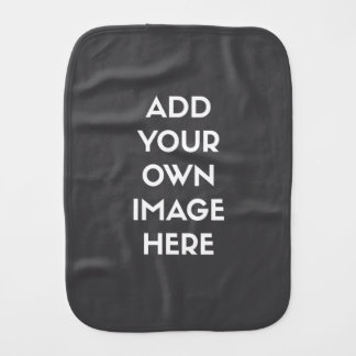 Add Your Own Image/Photo Baby Burp Cloth