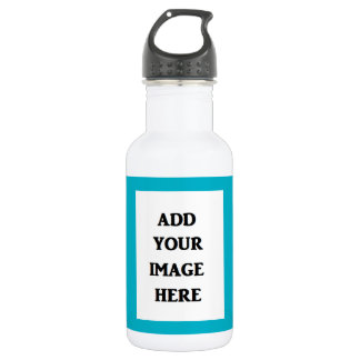 Add Your Own Image Water Bottle