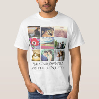 Add your own images and text T-Shirt