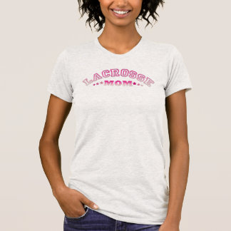 Add Your Own Name & Number Lacrosse Mom Tee