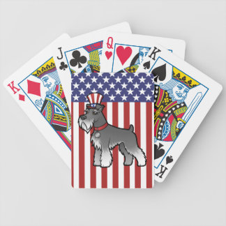 Add Your Own Pet and Flag Bicycle Playing Cards