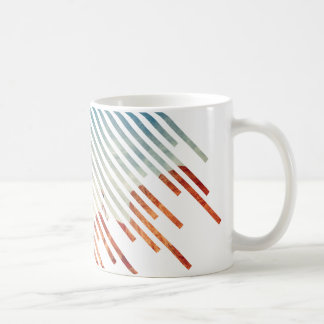 Add Your Own Photo! Cool Line Art Design Custom Coffee Mug
