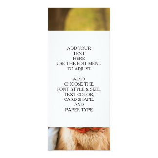Add Your Own Photo Custom Personalized 4x9.25 Paper Invitation Card