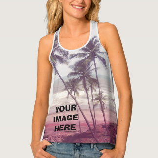 Add your own picture tank top