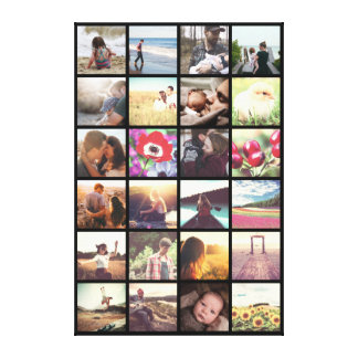 Add your own pictures canvas print