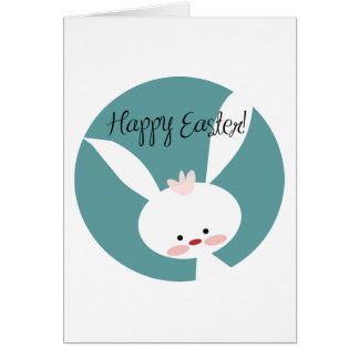 Add Your Own Text: Easter Bunny Card