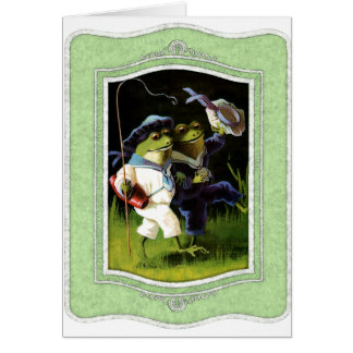 Add Your Own Text: Frog Pals Card