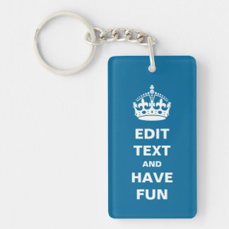 Add your own text here acrylic key chains
