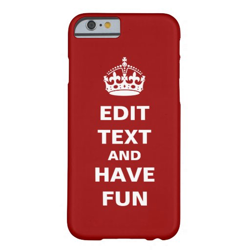 Add your own text here! iPhone 6 case