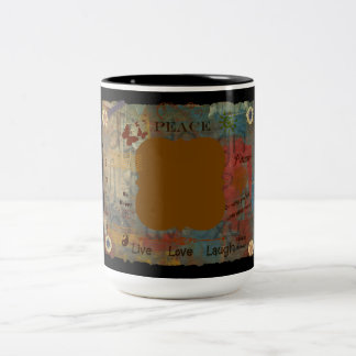 Add Your Own Two-Tone Coffee Mug