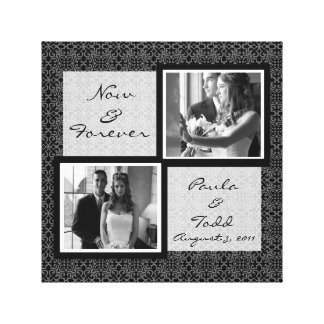 Add Your Own Wedding Photo Wrapped Canvas