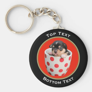Add Your Photo and Text Custom Keychain
