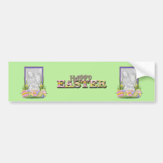 ADD YOUR PHOTO - Easter Egg Cookies Bumper Sticker