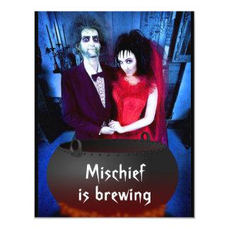 Add Your Photo Halloween Invitation