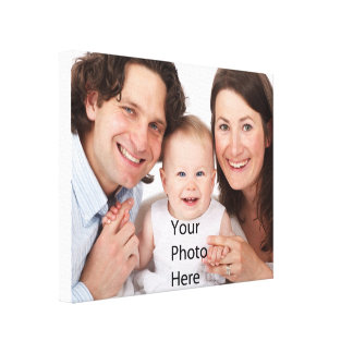 Add Your Photo image Gallery Wrapped Canvas