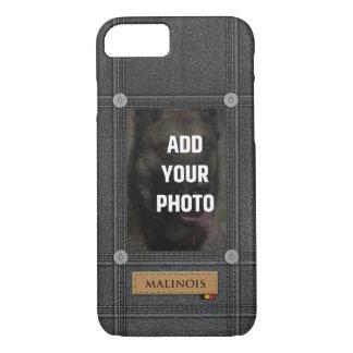 Add your Photo Malinois - Belgian shepherd iPhone 8/7 Case
