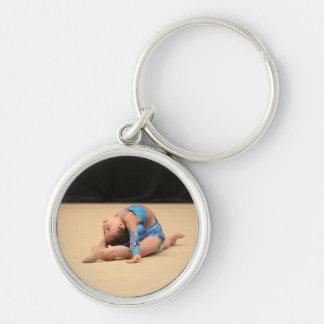 Add your photo personalized Gymnastics keychain