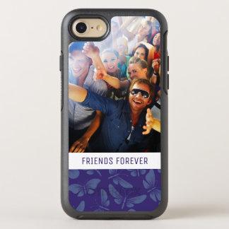 Add Your Photo | Purple Butterflies OtterBox Symmetry iPhone 8/7 Case