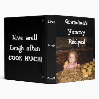 Add your photo Recipe Binder Grandma Yummy Recipes